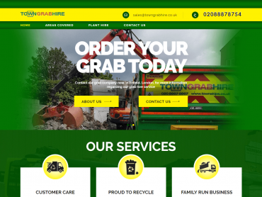 town grab hire website