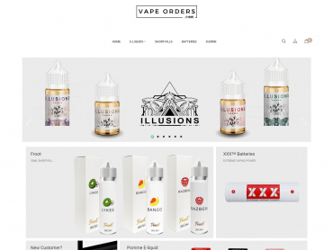 vape orders website